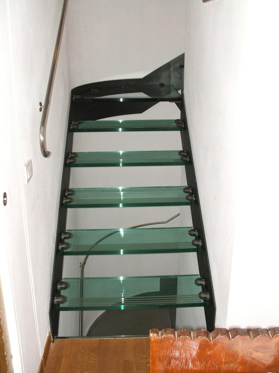 scala ferro-vetro: rampa di partenza