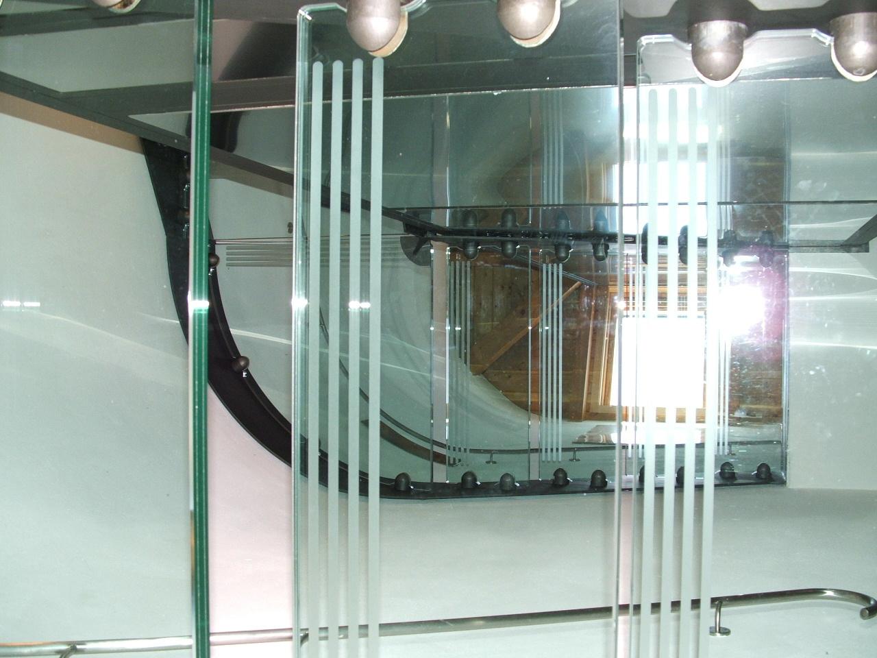 scala ferro-vetro: visuale dei piani