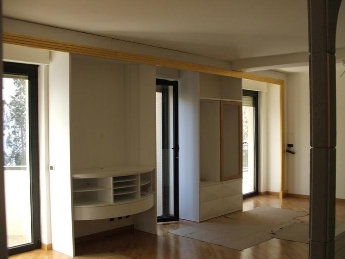 soggiorno: parete attrezzata