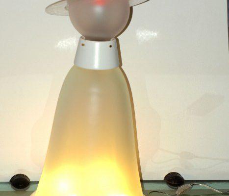 lampada accesa