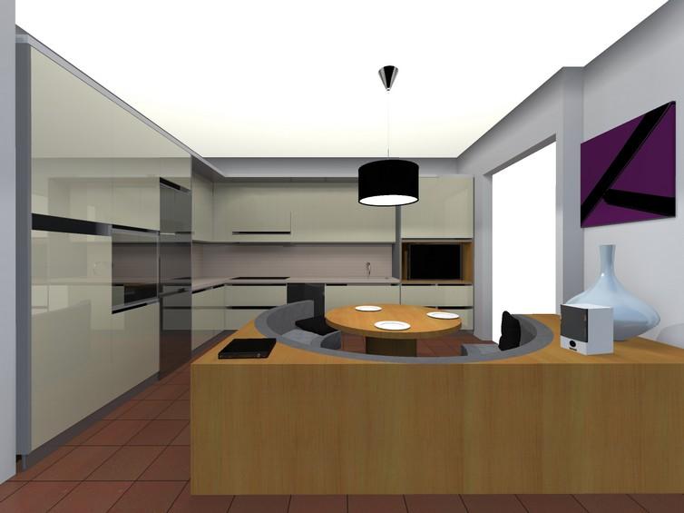 vista d'insieme cucina