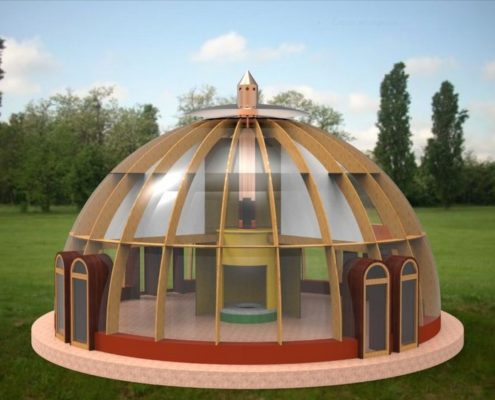 casa-cupola vista globale