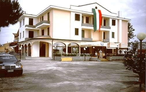 esterno struttura alberghiera