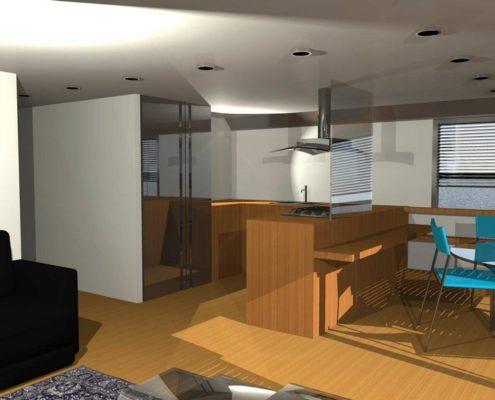houseboat-soggiorno-cucina