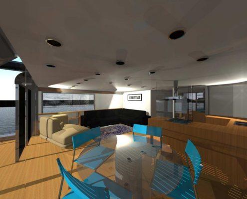 houseboat-soggiorno-divani