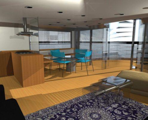 houseboat-soggiorno-pranzo