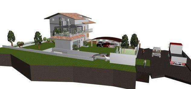 rendering intervento edilizio