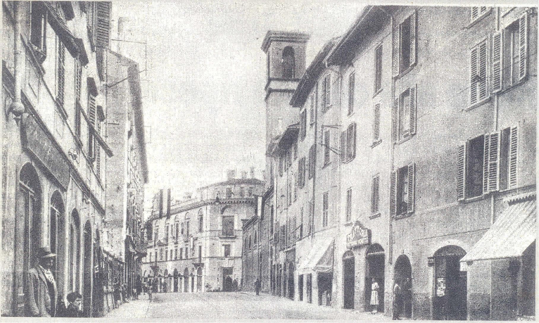 via san-giovanni: foto storica