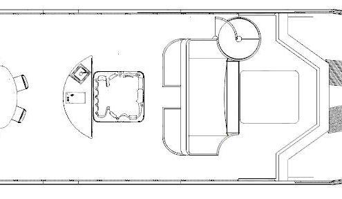 sopra senza tendalino-houseboat