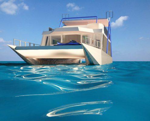 houseboat vista prua
