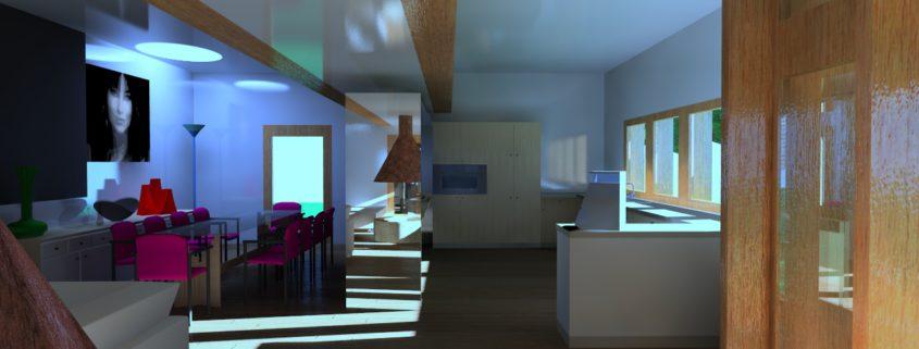 interno:pranzo e cucina