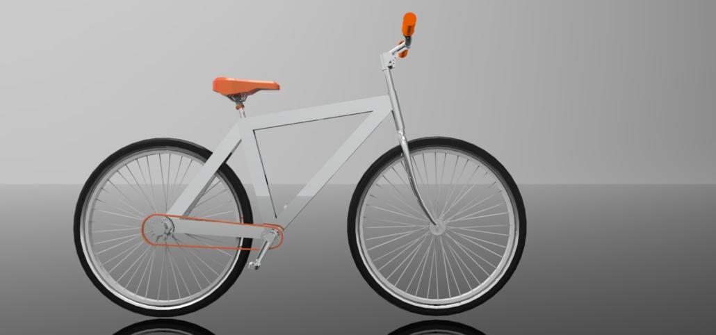 frontale bici scatto fisso