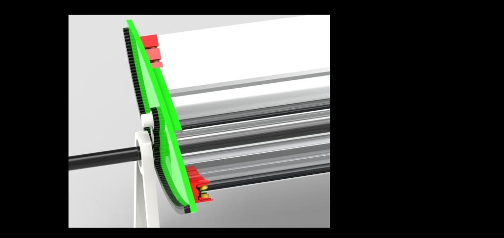 particolare parabole e lente di fresnel