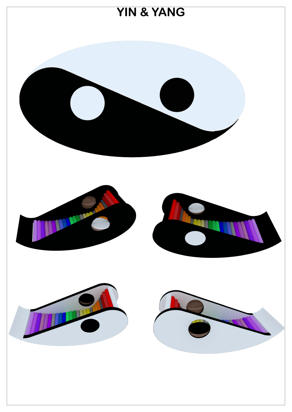 yin & yang: modello